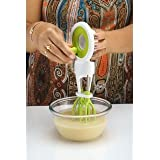 Ganesh New Stylish Hand Blender For Lassi, Milk, Coffee, Egg Beater Beating,liquidising,chur