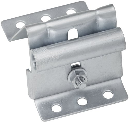 Images for National Hardware V7628 2-1/2-Inch Wide Garage Door Adjustable Top Roller Brackets with Bolts and Nuts, Galvanized
