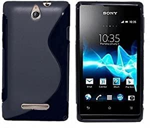 OPUS S Line Silicon Luxury Back Cover FOR Sony Xperia E (PACK OF 2)