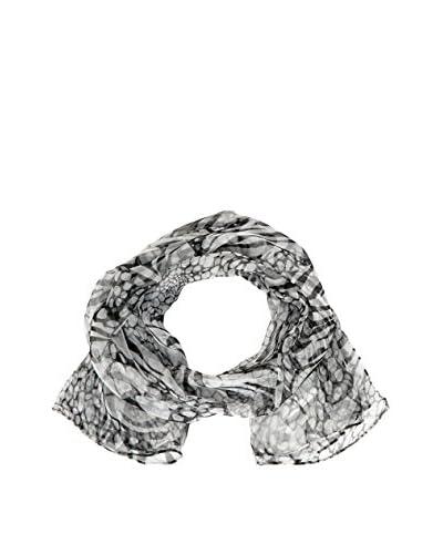 Unanyme George Rech Foulard Seta [Nero/Bianco]