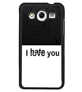 Printvisa 2D Printed Quotes Designer back case cover for Samsung Galaxy Core 2 G355H- D4389