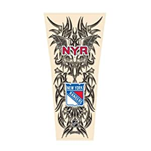 buy nhl new york rangers tribal tattoo sleeve online at low prices in india. Black Bedroom Furniture Sets. Home Design Ideas