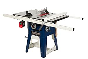 Rikon power tools 10 201 cast iron contractors saw 10 for 10 inch table saw comparison