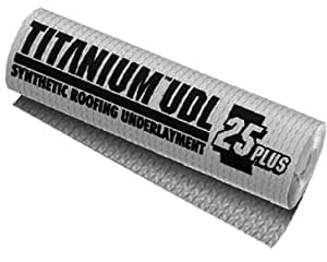 Titanium Synthetic Underlayment UDL 25 - Single Roll
