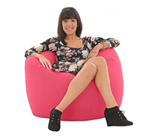 gilda adulte g ant bean bag jeu pouf poire rose fresco cuisine maison. Black Bedroom Furniture Sets. Home Design Ideas