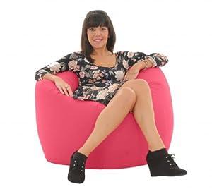 gilda adulte g ant bean bag jeu pouf poire rose fresco cuisine maison. Black Bedroom Furniture Sets. Home Design Ideas