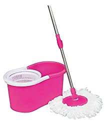 PLATEX Spin Mop,PINK