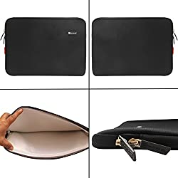 Sheng Beier Smart Padded Sleeves for All 12 to 13.3-inch Notebooks Netbooks Ultrabooks Tablets and Laptops (Black)