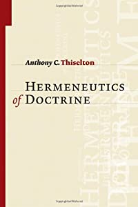 "Cover of ""Hermeneutics of Doctrine"""