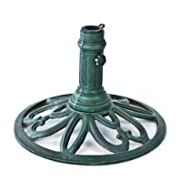 Umbrella Base Finish: Verde by Jordan Manufacturing