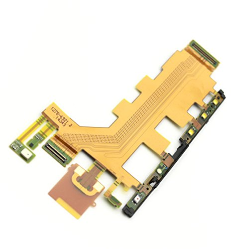 New Main Connector Mic Microphone Volume + Power Vibrator Motor Flex cable For Sony Xperia Z3v D6708 Z2 4G L50T L50u