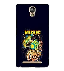 EPICCASE Beat that Music Mobile Back Case Cover For Gionee Marathon M5 Plus (Designer Case)