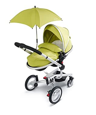 Silver Cross Surf Pram & Pushchair System with Lime Accessory Pack
