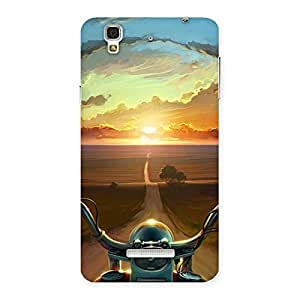 Special Wonder Cruise Way Multicolor Back Case Cover for Yu Yureka