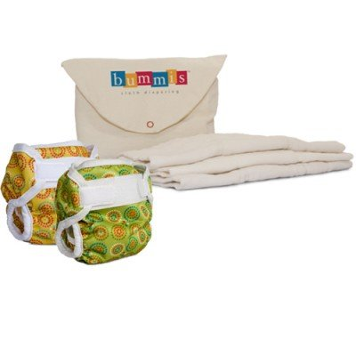 Bummis Cloth Diaper Cover Kit - Hook & Loop - Newborn