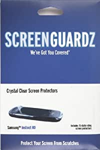 NLU Products ScreenGuardz Screen Protectors for Samsung Instinct HD
