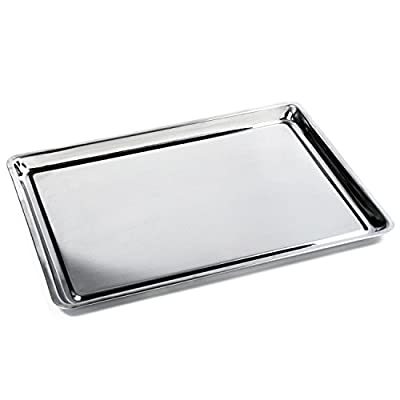 Norpro Stainless Steel 10x15 Jelly Roll Baking Pan Cookie Sheet Stainless Steel TEJ