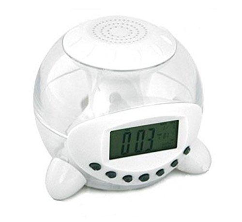 Amaranteen - Transparent Lcd Digital Electronic Alarm Clock 6 Natural