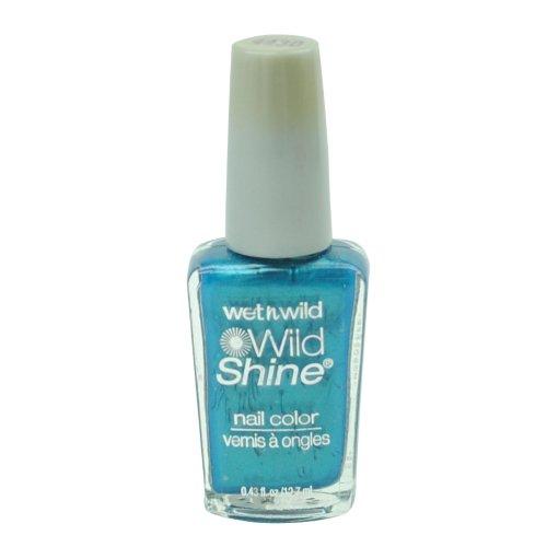 ウェットアンドワイルド WILD SHINE NAIL COLOR #443D BIJOU BLUE