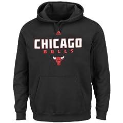 Chicago Bulls Pullover Hoodie Sweatshirt by Adidas by adidas