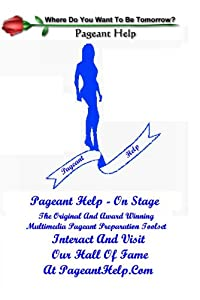 Pageant Help - On Stage