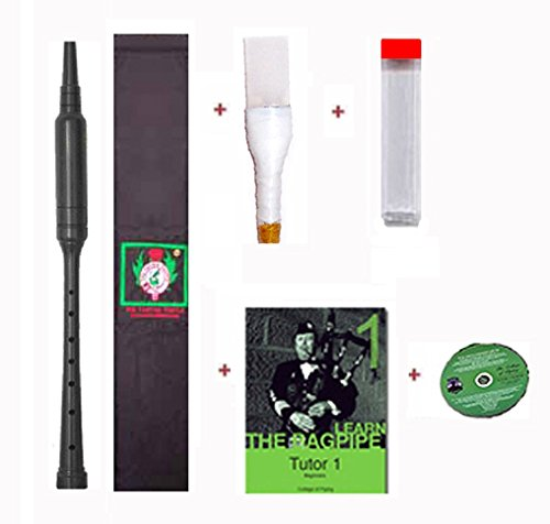 Gibson Practice Premium Chanter Kit with Sleeve - Learn to Play Bagpipes