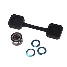 TOOGOO(R) Magnetic Lens 170 Degree 0.28 Mini Fisheye Fish-Eye Lens for Mobile Phone Tablet PC