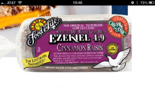 Food for Life, Ezekiel 4:9 Bread, Cinnamon Raisin, Organic, 24 Oz ...