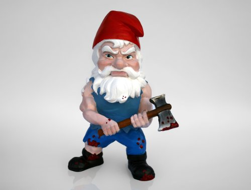 "Zombie Survivor Garden Gnome 7"""