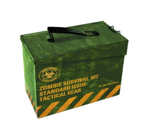 Spherewerx Ammo Box Metal Zombie Survival Kit Lunchbox