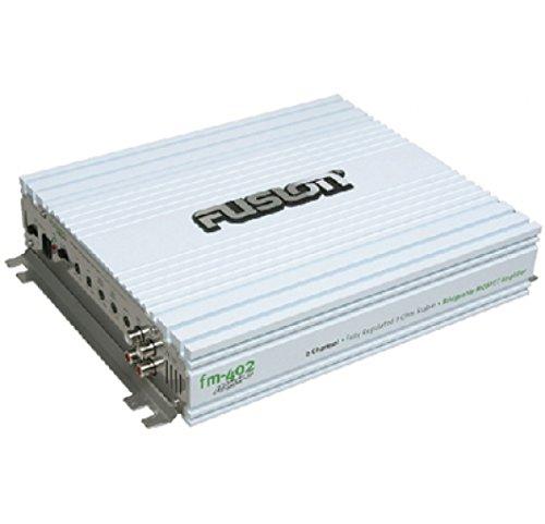 Fusion FM-402 2-Channel 400 Watt Marine Amplifier
