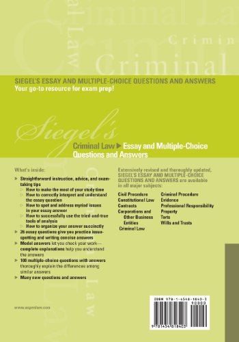 answer choice essay evidence multiple question series siegels siegels Siegels evidence essay and multiple choice questions and answers siegelspdf siegels evidence essay and multiple choice questions and answers siegels series.