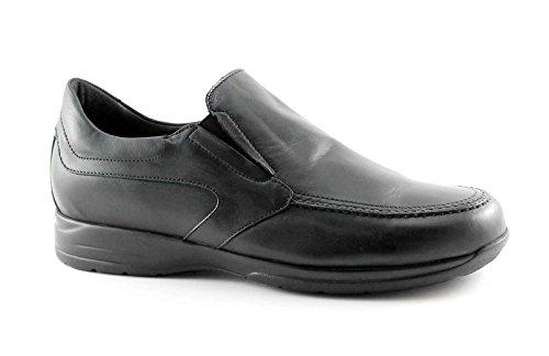 LION 8461 nero scarpe uomo confort mocassino antistatiche pelle 44