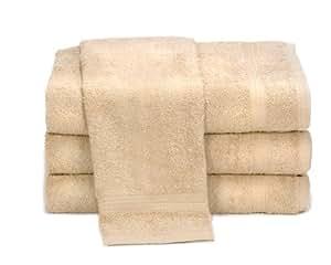 "Towels by Doctor Joe Ambassador Beige 16"" x 28"" Lint-Free Car Wash and Detailing Towel, Pack of 12"