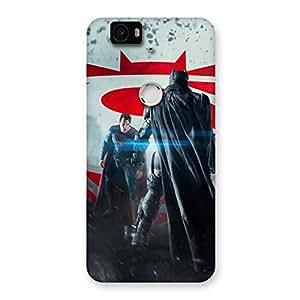 Day Vs Knight Front Multicolor Back Case Cover for Google Nexus-6P