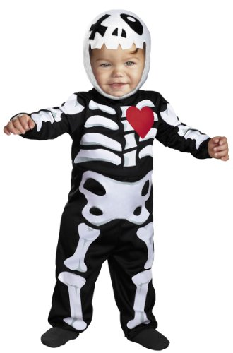 Baby Xo Skeleton Costume - 12-18 months