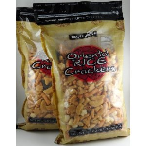 Trader Joe's Oriental Rice Crackers Pack of 2: Amazon.com