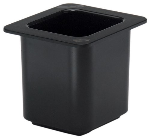 Cambro 66CF110 ColdFest Black 1/6 Size 6