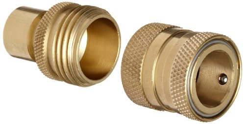 Dixon DGH7 Brass Quick-Connect Fitting, Garden Hose Complete Set, 200 psi Pressure