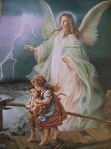 ( Large ) - Angel De La Guarda Poster ( Grande ): Posters & Prints