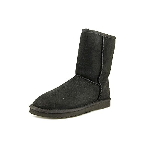 ugg-australia-classic-short-women-us-6-black-winter-boot