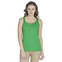 RAMPWALK Women's Sleevless Top (FYIAW15-TP03-01-99-05-04, Green, Medium)