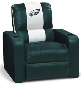 Dreamseat Philadelphia Eagles Nfl Leather Recliner Sports Fan Recliners Sports