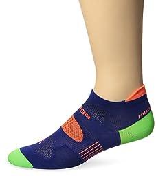 Balega Hidden Dry 2 Socks, Royal Blue, Small