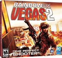 Brand New Rainbow Six Vegas 2 Jc (Rated: M) (Works With: Win Xp,Vista) front-280884