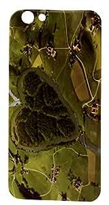 Soft Fancy Back Cover For Oppo F1s - Green Desgin