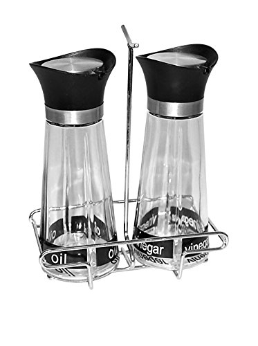 stoneline-cookware-15414-vinegar-and-oil-set-of-2-x-260-ml-with-metal-stand-glass