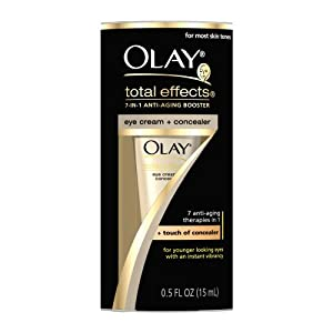 Olay Total Effects Eye Cream and Concealer, 0.5 Ounce