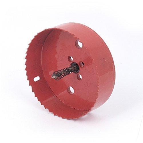 sourcingmap-6mm-Bohrer-Spitze-115mm-Ausschnittdurchmesser-Loch-Sge-Rot-fr-Bohren-Holz