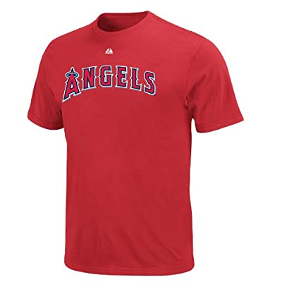 MLB Los Angeles Angels Albert Pujols #5 Name and Number Youth T-Shirt Red